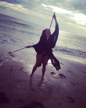 My last day on the beach...